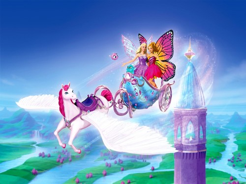 বার্বি Mariposa and Fairy Princess new pic.Barbie Mariposa and Fairy Princess new pic.