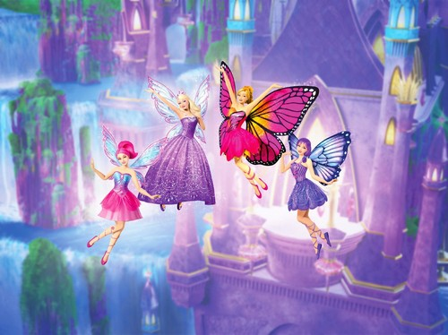 バービー Mariposa and Fairy Princess new pic.Barbie Mariposa and Fairy Princess new pic.