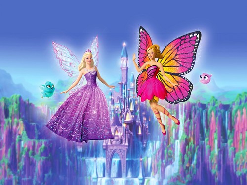 বার্বি Mariposa and the Fairy Princess