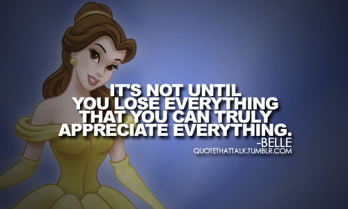 Belle quote. :)