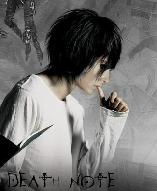 Bill as L (Death Note)