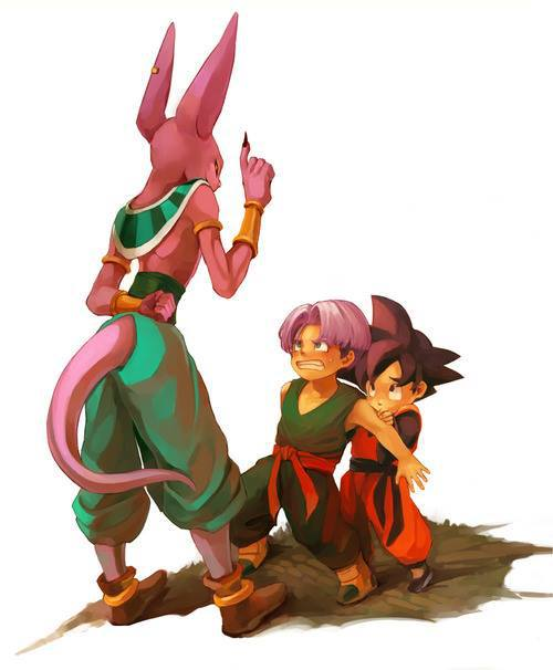 Bills with goten and trunks