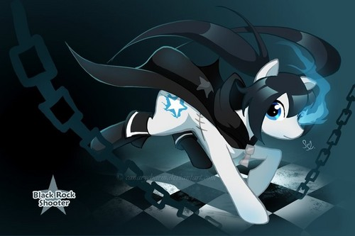 Black ★ Rock Shooter! parang buriko version