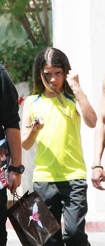 Blanket Jackson in Calabasas New June 2013 ♥♥