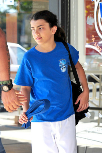 Blanket Jackson in Encino New June 2013 ♥♥