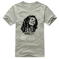 Bob Marley classical logo short sleeve t shirt - bob-marley photo