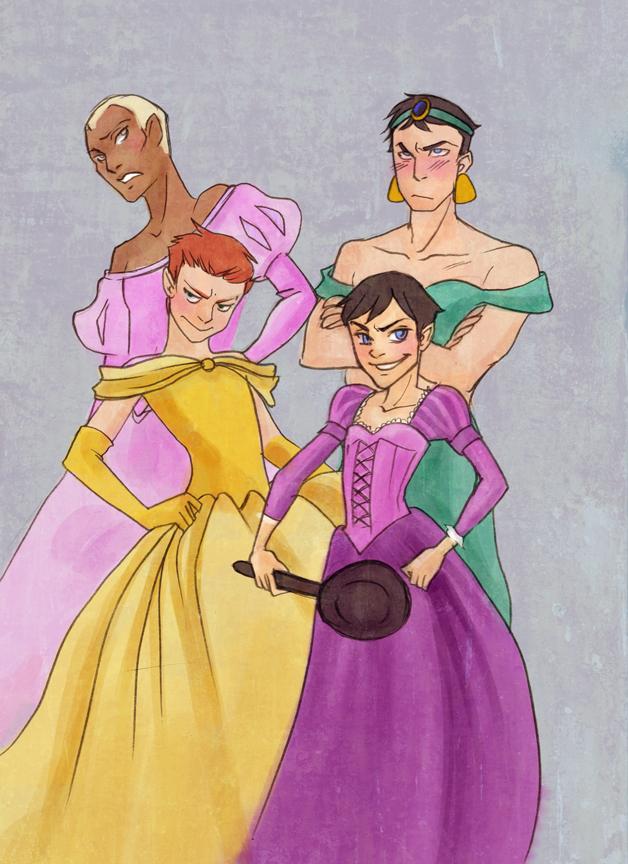 Boy Princesses