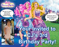 CJ's Birthday - barbie-the-princess-and-the-popstar fan art