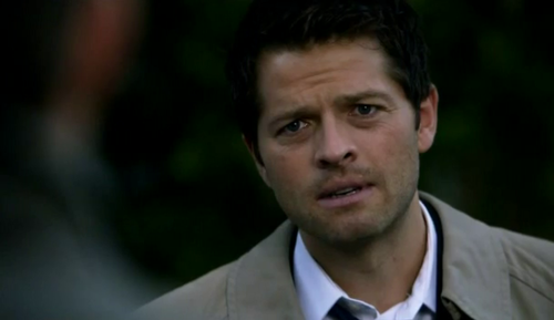 Supernatural wallpaper containing a business suit entitled Castiel