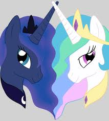 My Little Pony Friendship is Magic wallpaper entitled Celestia and Luna