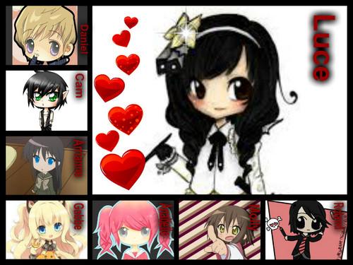 Chibi - Fallen Characters