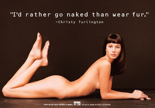 Christy Turlington banners