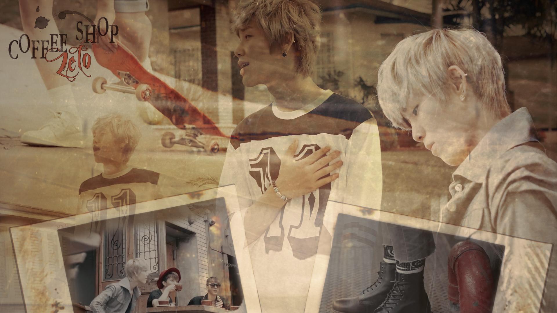 Coffee Shop - Zelo - B.A.P Wallpaper (34873201) - Fanpop