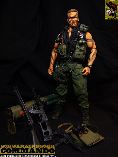 Custom one sixth COMMANDO figure