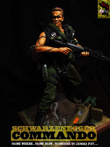 Custom one sixth COMMANDO figure