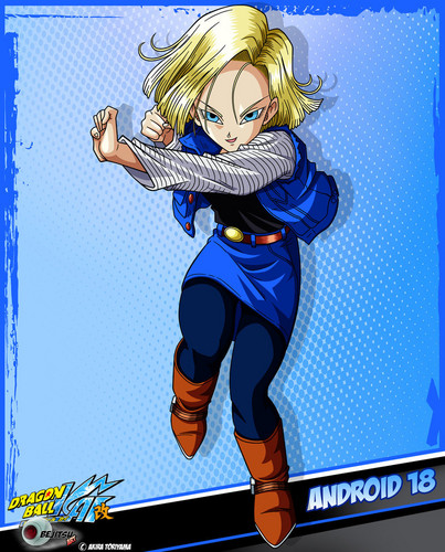Cyborg 18 DB Kai Card [HQ]