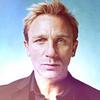 James Bond foto with a portrait titled Daniel Craig