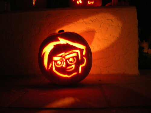 Danny Phantom Halloween Carving