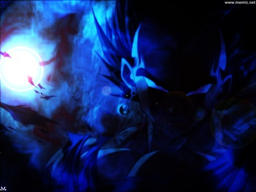 dragon ball z wallpaper entitled Dark Vegeta