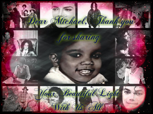 Global Warming Prevention wallpaper containing a stained glass window titled Dear MJ