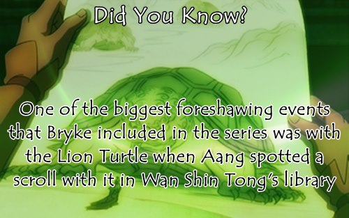 Awatara - ang Huling Airbender wolpeyper titled Did You Know?