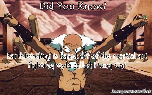 Avatar: The Last Airbender wallpaper called Did You Know?