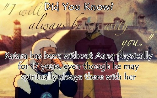 Avatar: The Last Airbender wallpaper containing anime titled Did You Know?