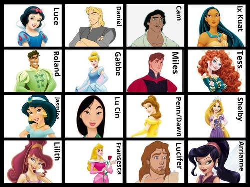 Disney - Fallen Characters