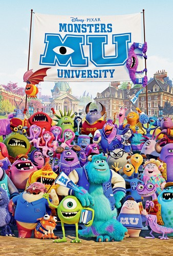 Disney•Pixar Posters - Monsters universiti