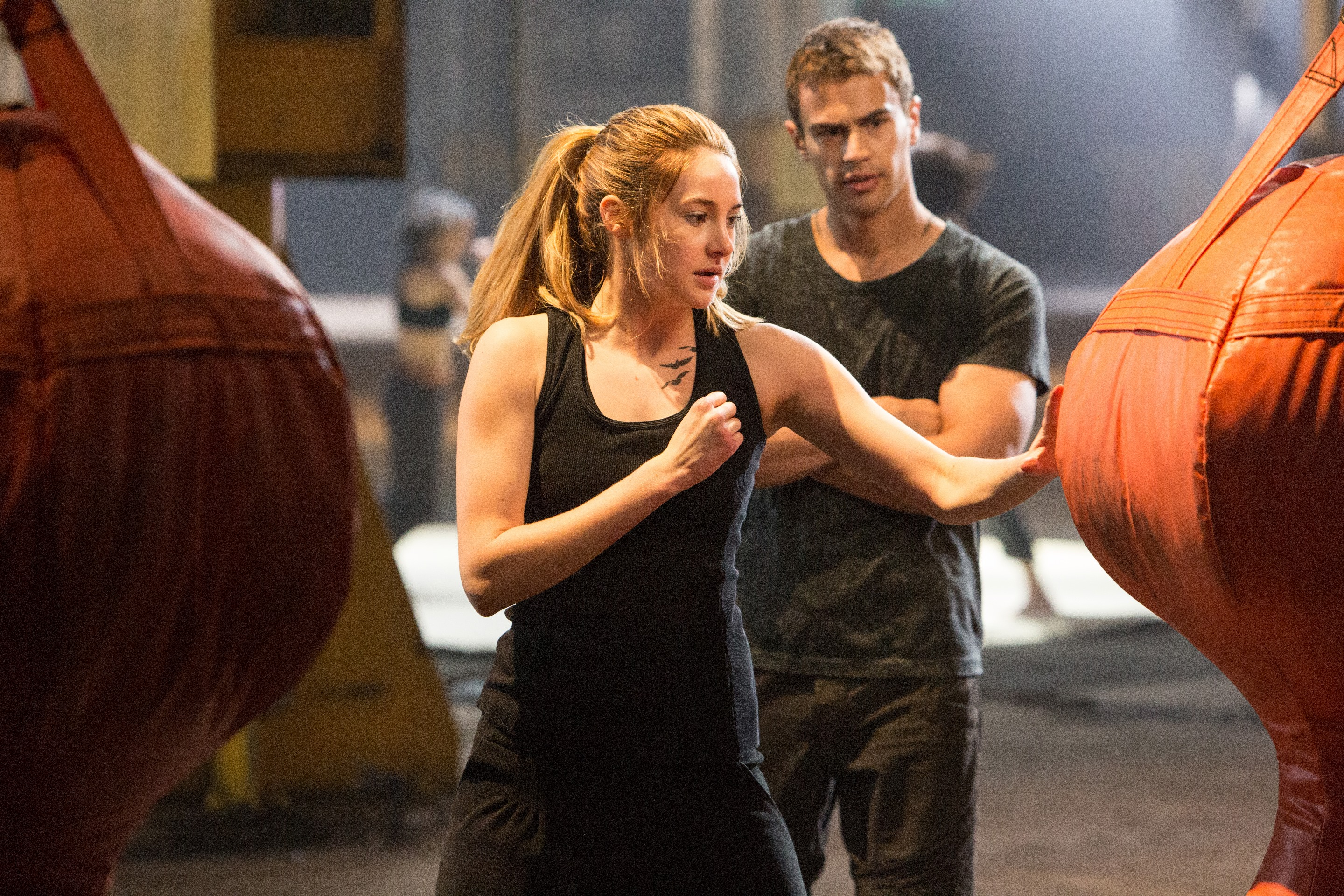 divergent movie tris and four - photo #1