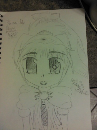 Anime Drawing Hintergrund possibly with Anime entitled Doll