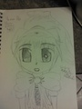 Doll - anime-drawing photo