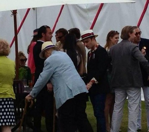 ED WESTWICK guest stella, star BEAUFORT QUEENS CUP CARTIER POLO (JUNE 16)
