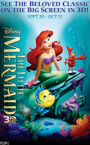 El Capitan Theatre - The Little Mermaid 3D