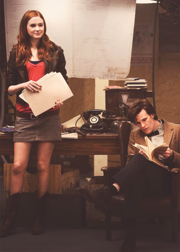 Eleven and Amy :)