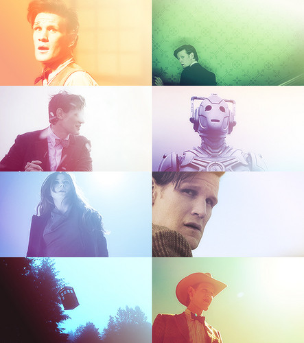 The Eleventh Doctor 壁纸 called Eleven and Clara Fanart :)