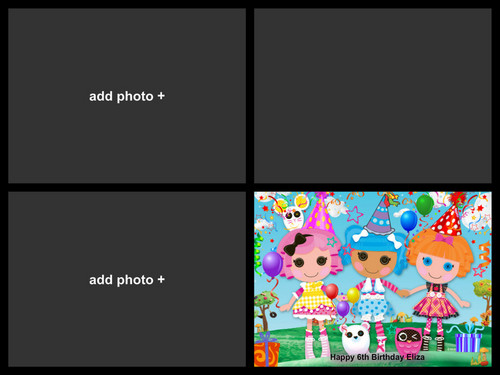Lalaloopsy Hintergrund entitled Eliza Birthday