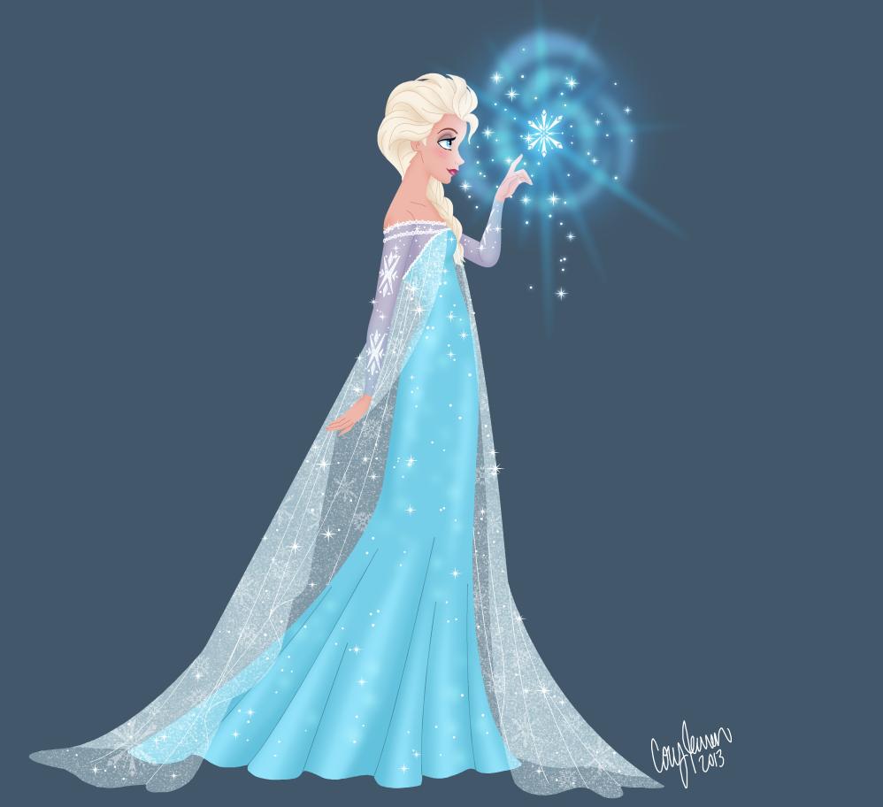 Elsa - Frozen Fan Art (34842321) - Fanpop