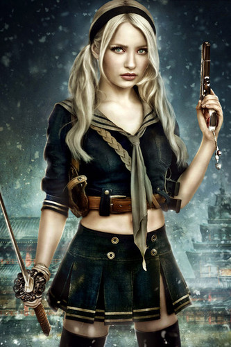 Emily Browning پیپر وال titled Emily Browning