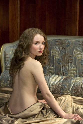 Emily Browning wallpaper probably with a drawing room entitled Emily Browning