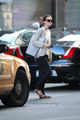 Emma Watson Gets Some Shopping Done In New York On June, 12