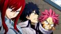 Erza, Gray, Natsu, Enraged