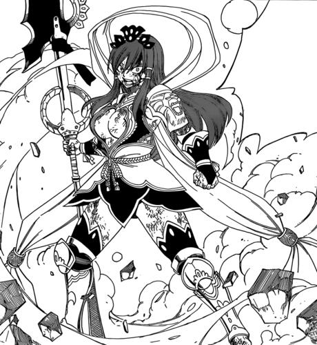 Erza Scarlet Nakagami Armor