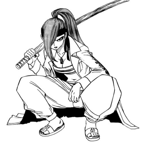Erza Scarlet (Yakuza clothing)