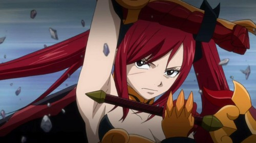fairy tail wallpaper titled Erza Scarlet