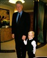 Ex President Bill Clinton and Prince Jackson ♥♥