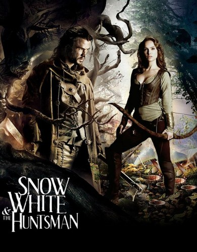 Snow White and The Huntsman fond d'écran with animé called Fanfiction Cover