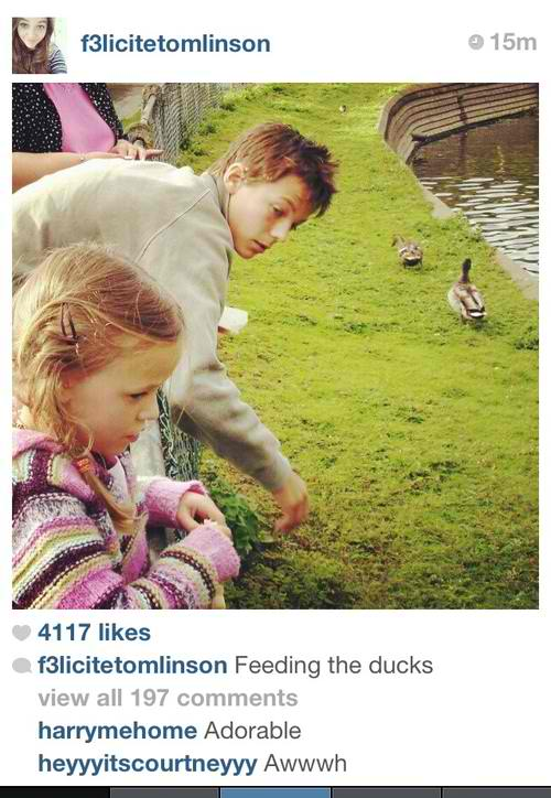f233licit233 tomlinson images felicite with her brother when