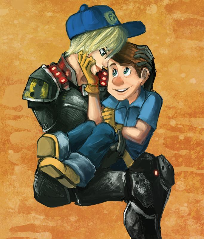 Felix and Calhoun
