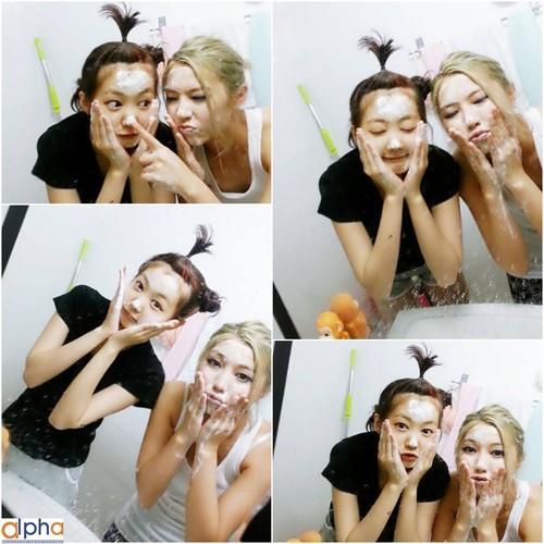 Ferlyn and Hana